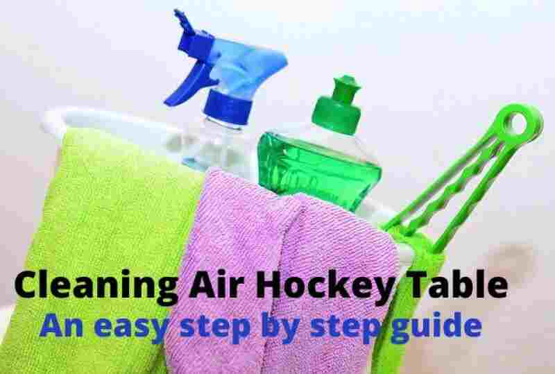How to Clean an Air Hockey Table